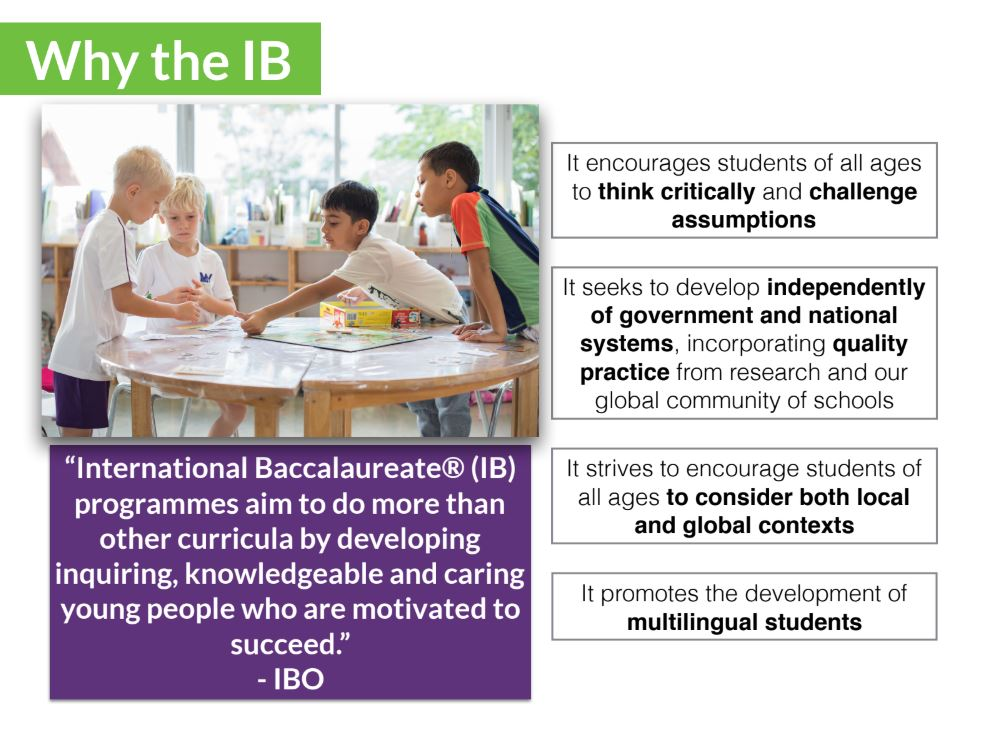 why the ib